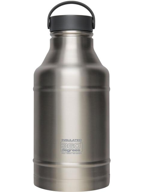 360° degrees Growler Drink Bottle 1800ml Steel